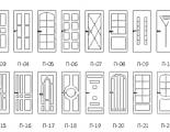 эскизы дверей